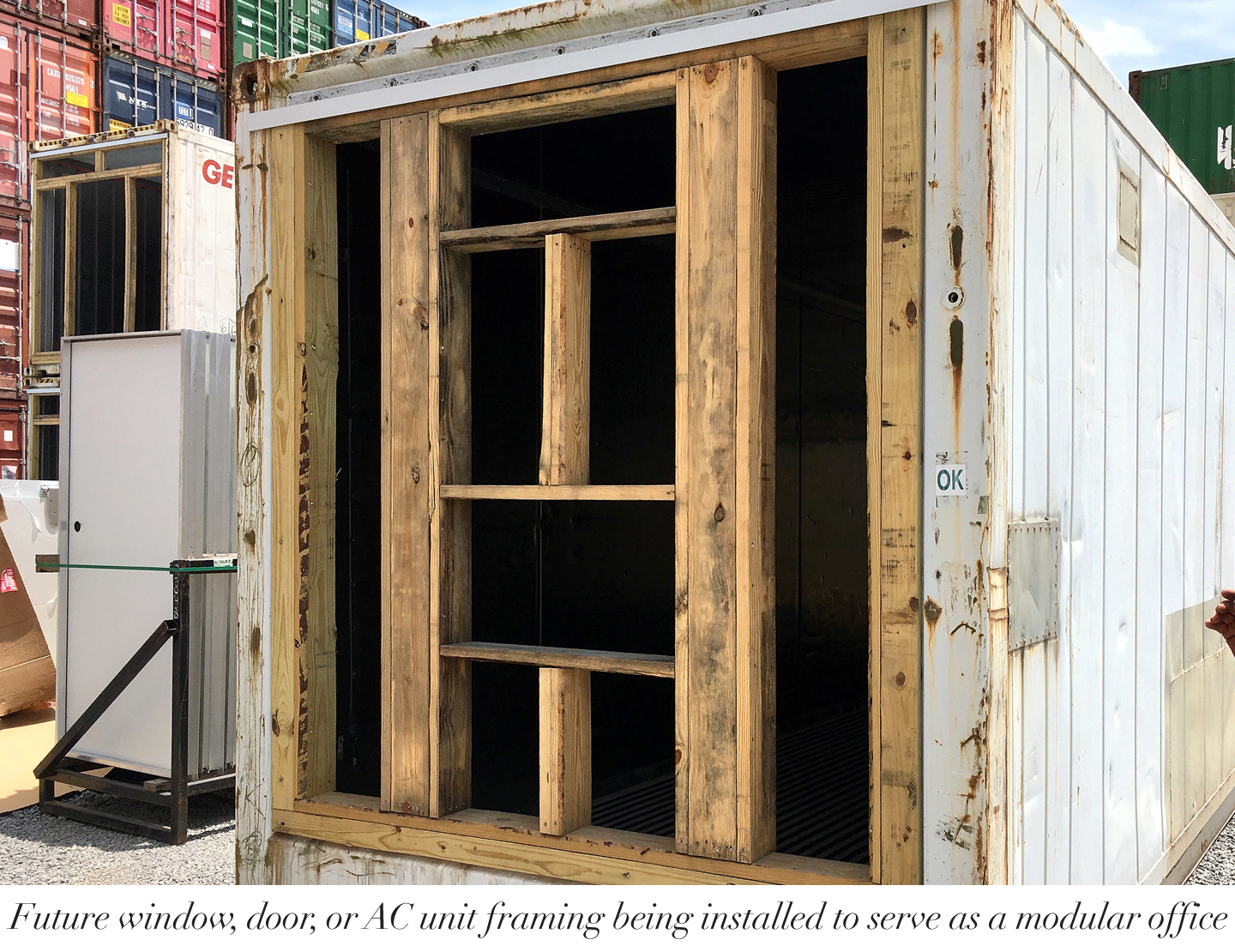 F-Container-framing